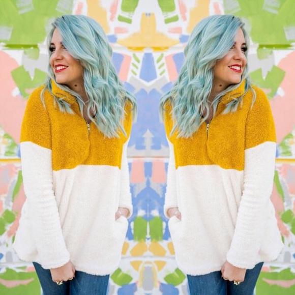 Tops - Lightweight Soft Pullover Zip Up Sweatshirt